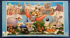 "Disney Parks Disneyland World Panoramic Jigsaw Puzzle 500 Piece ""Complete""-READ!"