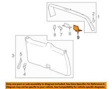 GM OEM Liftgate Tailgate Hatch-Latch Cover 23183555