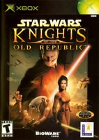 STAR WARS : KNIGHTS OF THE OLD REPUBLIC ( JEUX MICROSOFT XBOX ) COMPLET / CIB
