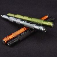 Outdoor Survival Keychain Stone Rod Fire Starter Lighter Magnesium Kit m