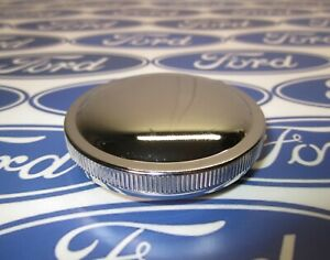 1951-1976 Ford Truck Gas Cap | F-Series, Bronco | Fuel Cap | Chrome