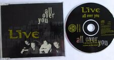 LIVE - ALL OVER YOU, 1995 CD SINGLE. RAXTD 20