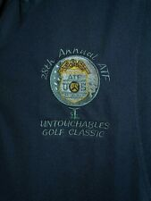 2018 ATF 28th Annual Untouchables Golf Classic Polo Shirt Mens Size Large