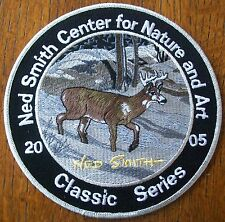 """PA PENNSYLVANIA GAME FISH COMMISSION   NED SMITH  PATCH  6"""" 2005  CLASSIC SER"""