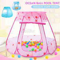 Blue / Pink Children Baby Tent Ocean  Ball Pit Pool Play House Kid Game Toy