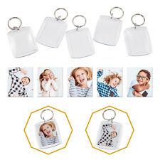 Foto Schlüsselanhänger im Passbildformat mit Schlüsselring 1-100 Stück