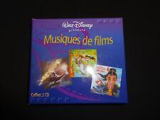 CD  - Musiques de films walt Disney - coffret  3cd -  TTBE-