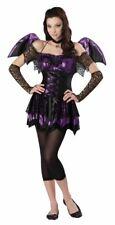 Battitude Bat Black Halloween Fancy Dress Costume Teen Child Girls 10-16 Years