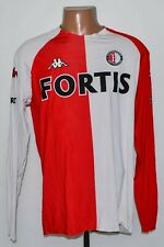 FEYENOORD 2004/2005 HOME FOOTBALL SHIRT JERSEY KAPPA SIZE 2XL ADULT LONG SLEEVE