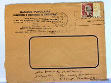 LETTRE  ALGERIE SURCHARGEE EA 1962 CONSTANTINE  EA106