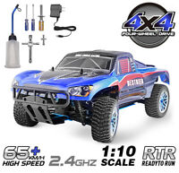 HSP RC Car 1:10 Nitro Power Off Road 4WD Short Course Truck Racing High Speed a1