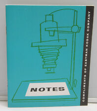 Kodak NOTES Complimentary Photo Notebook with Darkroom Paper Ad - VINTAGE B108
