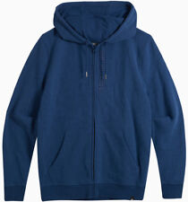 Animal Safou Zipped Hoody in Deepest Blue Marl