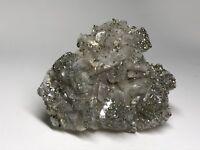 PIRITA DOLOMITA - Pyrite Dolomite - Panasqueira - PORTUGAL MINERAL  7x6x2