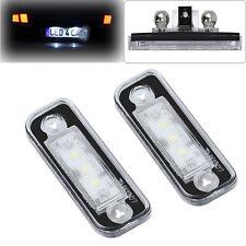2 LED SMD Kennzeichenbeleuchtung Mercedes Benz SLK R171 S203 W211 S211/1103 Weiß