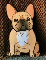 "7 "" Fawn Frenchie Magnet"