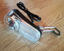 LED Fahrrad Scheinwerfer NEU Dynamo & Ebike 6V ON OFF Schalter Reflektor K1048