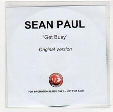 (FC625) Sean Paul, Get Busy - DJ CD