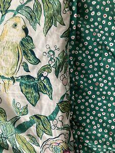 Opalhouse Indo Parakeet Twin Comforter Reversible Green