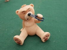 Bear la rimozione dei peli dal naso con le pinze!!!