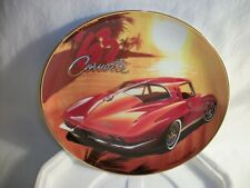 Corvette 1963 - Collector Plate - General Motors Licensed Product - Franklin Mnt