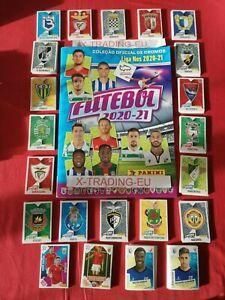 PANINI FUTEBOL 2020-21 PORTUGUESE LEAGUE ALBUM +445 ALL stikers Complete BIS&UA