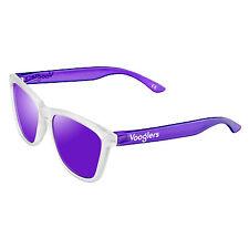 Gafas de Sol Polarizadas Mujer Vooglers UV400 Lentes Moradas Marco Bicolor Mate