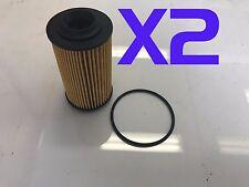 2X Oil Filter Suits R2605P / WCO4 HOLDEN COMMODORE STATESMAN VZ VE WM 3.0L 3.6L