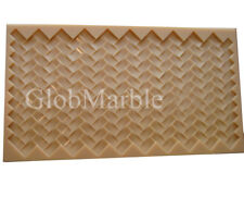 Concrete Stone Mold Plait Mosaic Tile Stone Rubber Mould MS 841 Casting Mould
