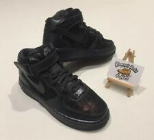 buy popular 4a436 f341d Womens NIKE AIR FORCE 1  07 MID PRM METALLIC HEMATITE TRAINERS UK 4 RARE  PREMIUM