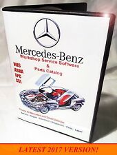 Mercedes 2017 EPC Dealer Parts Catalog & Diagrams - WIS ASRA - Repair Manual DVD