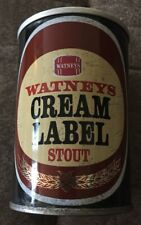 WATNEYS CREAM LABEL STOUT 9.68 Oz BEER Can Great Britain