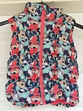 Girls Disney At George Minnie Mouse Body Warmer Fleece Lined Age 3-4 Years B51