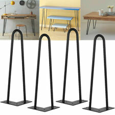 "4x Hairpin Legs Furniture / Table / Coffee Table/ Bench 4"" 8"" 10"" 14"" 16"" 28"" UK"