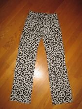 EUC Girls Gymboree Tres Fabulous Gray Leopard Corduroy Pants Size 10