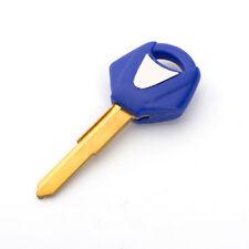 Uncut Motorcycle Key Blanks Blades For YAMAHA YZF R1 R6 R3 R25 FZ1 MT09/07 Blue
