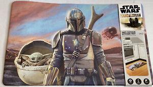 "Disney Star Wars The Mandalorian Anti Fatigue Kitchen Mat 18"" x 30"" NWT Rare"