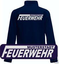 Feuerwehr Sweatjacke - Jacke - Druck reflex silber O15