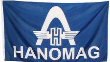 Fahne Flagge HANOMAG Thyssen Bogen Logo 1,5 m x 0,9 Trecker Traktoren Neu