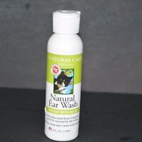 NATURAL EAR WASH, FOR CATS FOR EAR MITE RELIEF (4 FL OZ) MC MIRACLE