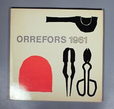 More details for orrefors 1961 lunds konsthall exhibition catalogue