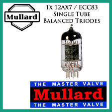New 1x Mullard 12AX7 / ECC83 | *Balanced Triodes* | One / Single Tube
