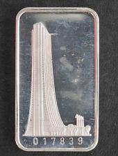 1973 Switzerland Mint Bank of Chicago Silver Art Bar SWISS-21 P2226
