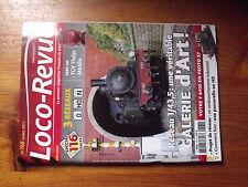 $$7 Loco-Revue N°768 TGV Thalys Marklin  Y 6400  Embranchement industriel