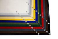 5m breite LKW PVC Plane 600g/m² mit/ohne Saum und mit und ohne Ösen