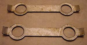 Rootes Group Hillman Sunbeam Imp Chamois Original NOS Flywheel Lock Tabs x 2