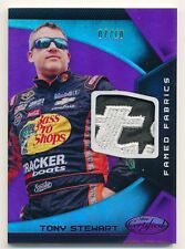 2016 Panini Certified TONY STEWART Famed Fabrics Mirror Purple Patch Rare SP /10