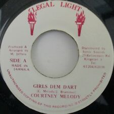 "COURTNEY MELODY - Girls den Dart - 7"" Single JA PRESS"