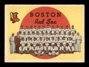 1959 Topps Set Break # 248 Boston Red Sox Team Card VG-EX *OBGcards*