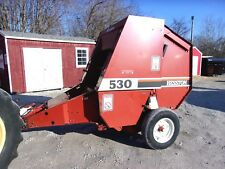Nice! Hesston 530 Round Baler -size 4x4.5 Can Ship @ $1.85 loaded mile